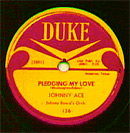 Pledging My Love - Johnny Ace Record