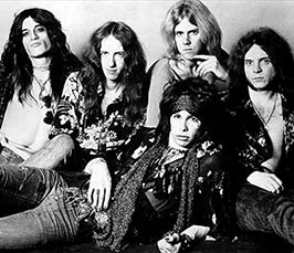 Aerosmith rock band