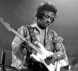 Jimi Hendrix rock band