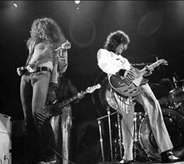 Led Zeppelin rock band