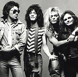 Van Halen rock band