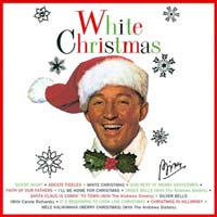 White Christmas by Bing Crosby record sleeve cover