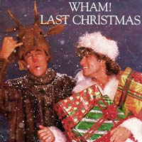 Last Christmas by George Michael and Wham record sleeve cover