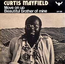 Move On Up by Curtis Mayfield 7inch single sleeve