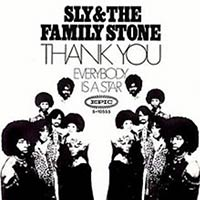 "Funk Song ""Thank You (Falletinme Be Mice Elf Agin)"" record sleeve"