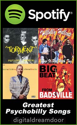 Spotify Psychobilly Songs link image
