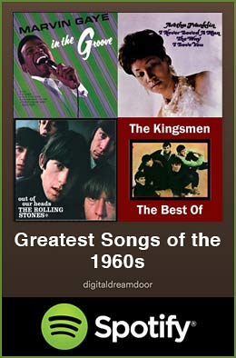 Greatest songs of the 1960s spotify link image