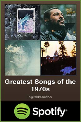 Greatest songs of the 1970s spotify link image