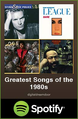 Greatest songs of the 1980s spotify link image