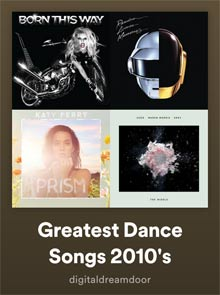 Spotify Dance Songs 2010's link image