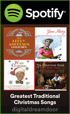 Spotify Traditional Christmas Songs link image