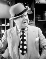 Comedic actor W.C. Fields