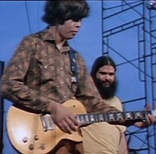 Canned Heat playing at woodstock 1969