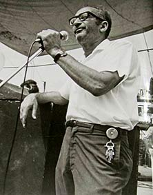 Max Yasgur at woodstock 1969