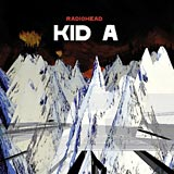 Kid A Radiohead album cover