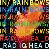 In Rainbows Radiohead album cover