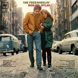 The Freewheelin' album cover Bob Dylan