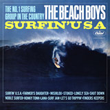 Surfin' USA. album cover - The Beach Boys