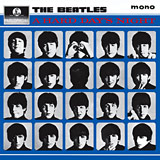 A Hard Day's Night album cover - Beatles