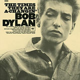 The Times They are A-Changin' album cover - Bob Dylan