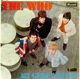My Generation album cover - The Who