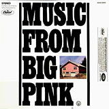 The Band Music From Big Pink album cover