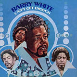 Can't Get Enough Barry White album cover