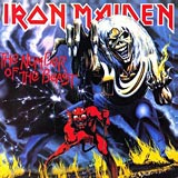 The Number Of The Beast Iron Maiden album cover