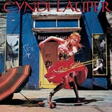 She's So Unusual Cyndi Lauper album cover