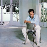 Can't Slow Down Lionel Richie album cover
