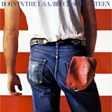 Born in the USA Bruce Springsteen album cover