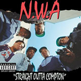 Straight Outta Compton N.W.A album cover