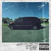 good kid, m.A.A.d. city Deluxe Edition audio CD cover