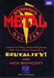 Beginning Metal Guitar - Featuring Nick Bowcott DVD
