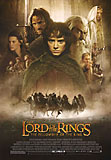 Lord of the Rings: The Fellowship of the Ring movie DVD cover