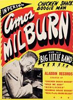 Amos Milburn poster
