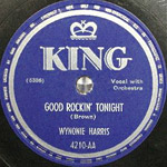 Good Rockin' Tonight - record lable