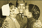 Clyde McPhatter in the Army