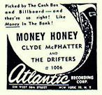 Money Honey - old paper ad