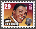 Clyde McPhatter postage stamp