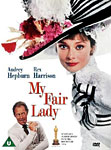 My Fair Lady movie DVD cover
