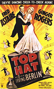 Top Hat movie DVD cover