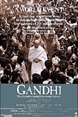 Gandhi movie DVD cover