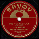 The Hucklebuck - Paul Williams - record lable