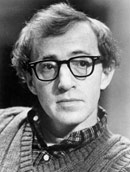 Woody Allen movie director and actor
