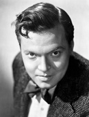 Orson Welles movie director and actor