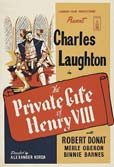 The Private Life of Henry VIII movie poster