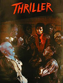 Poster for the Michael Jackson music video Thriller