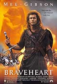 Poster for the movie Braveheart