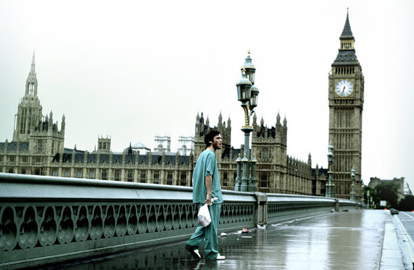 scene from 28 Days Later